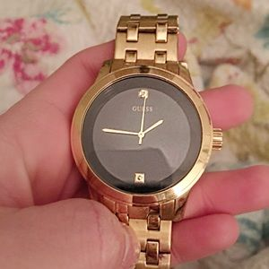 Guess Brand new Men's watch with genuine diamonds